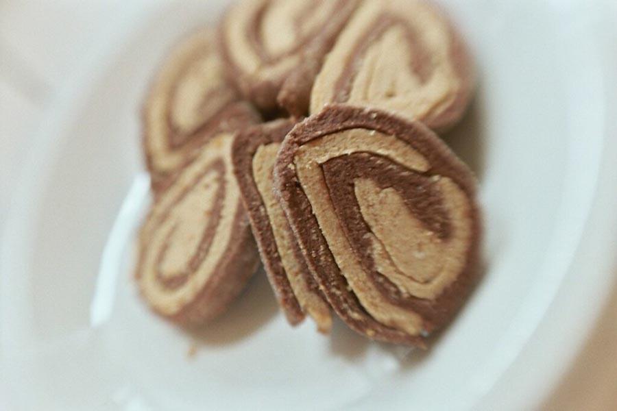 Biscuits Swirlie au beurre d'arachide
